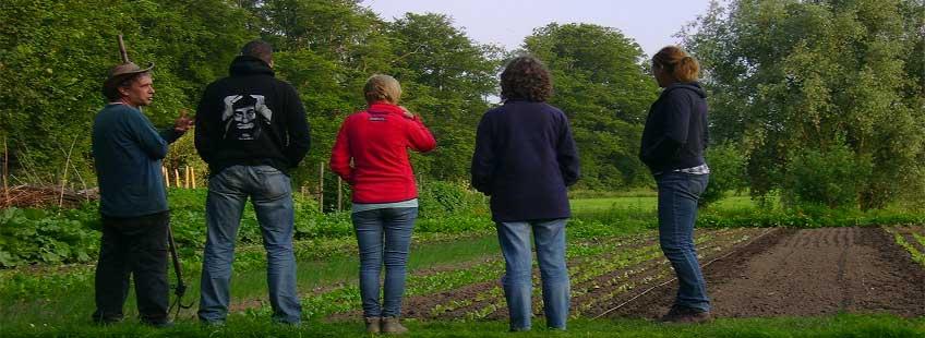 Workshops op de ecologische boerderij